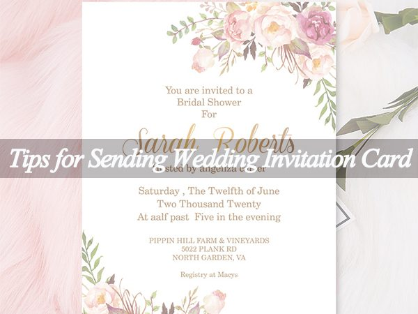 Do You Really Know How to Send the Wedding Invites?