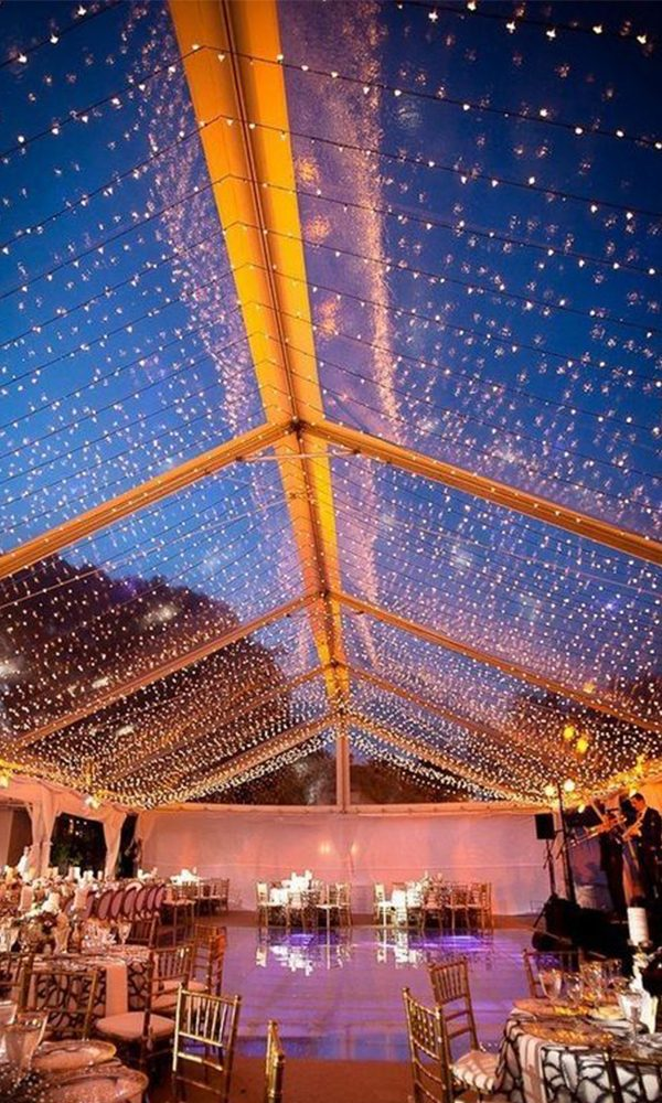 Unique Wedding Reception Lighting Ideas to Steal