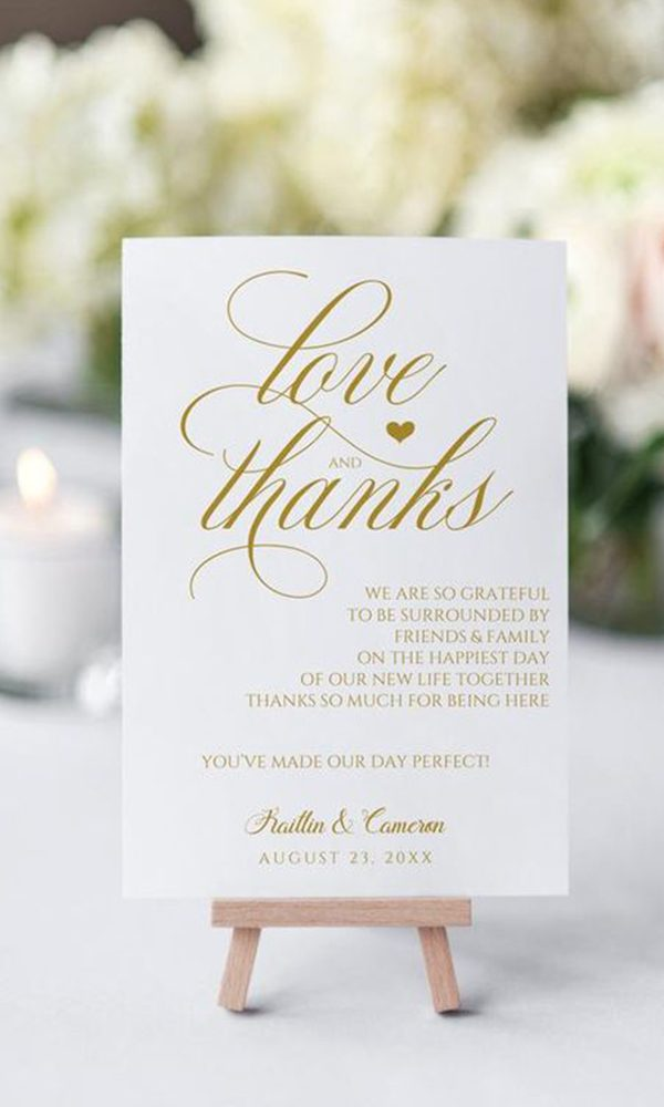 Tips to Write Wedding Thank You Notes