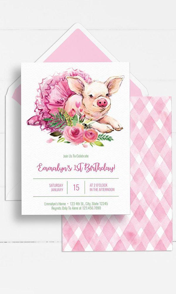 Hot Off the Press: Miss Piggy Wedding Invitations