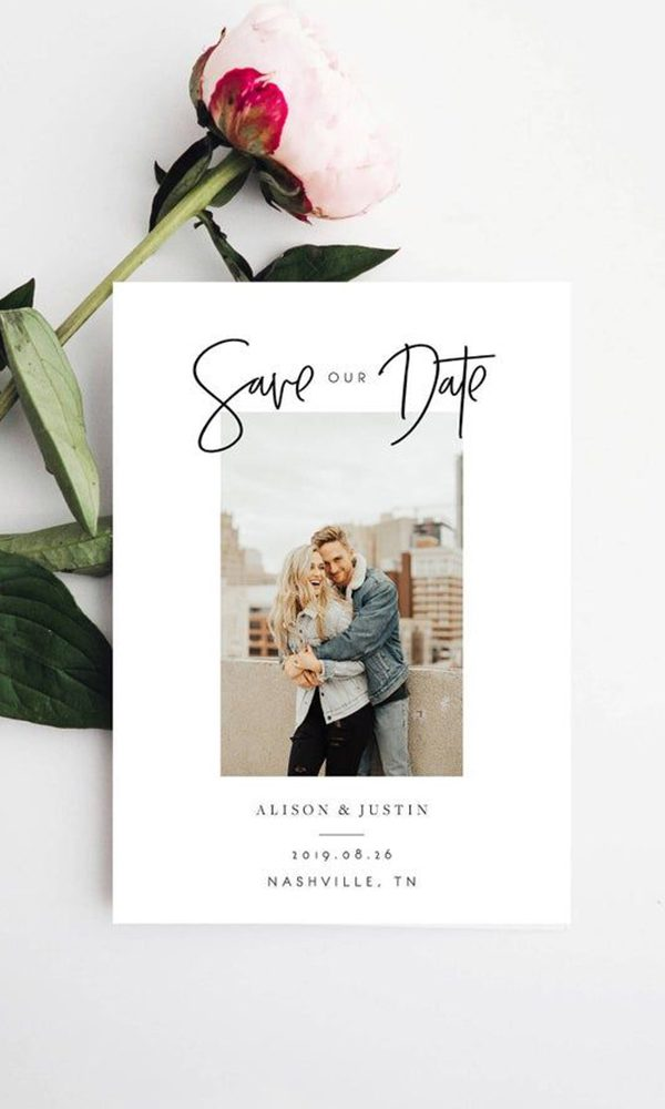 Tips to Pick the Perfect Picture for Photo Save the Date