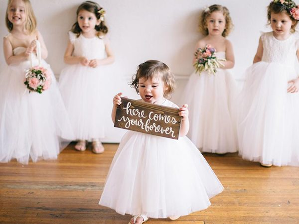 Is It Sensible to Have Kids in Your Wedding?