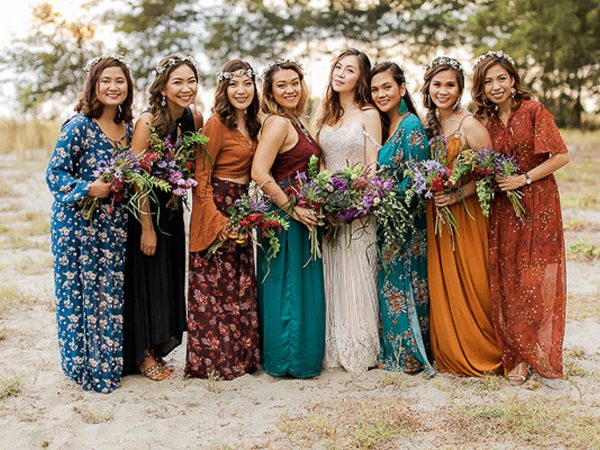 Great Ideas for a Bohemian Style Wedding