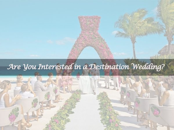 Some Inspirations about Destination Wedding?