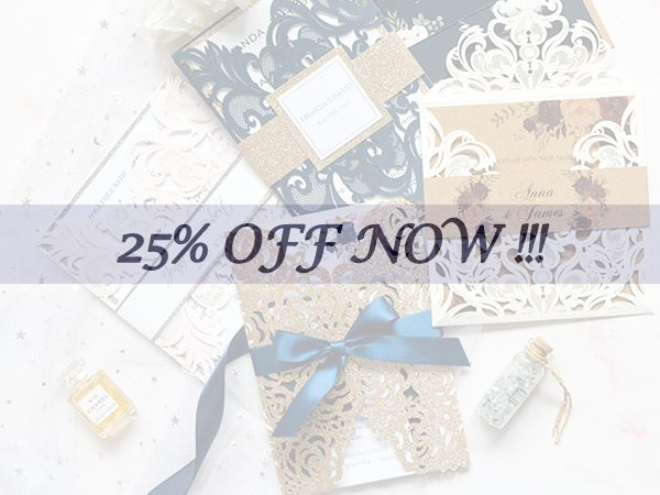 Big Sales for New Arrival Wedding Invitations