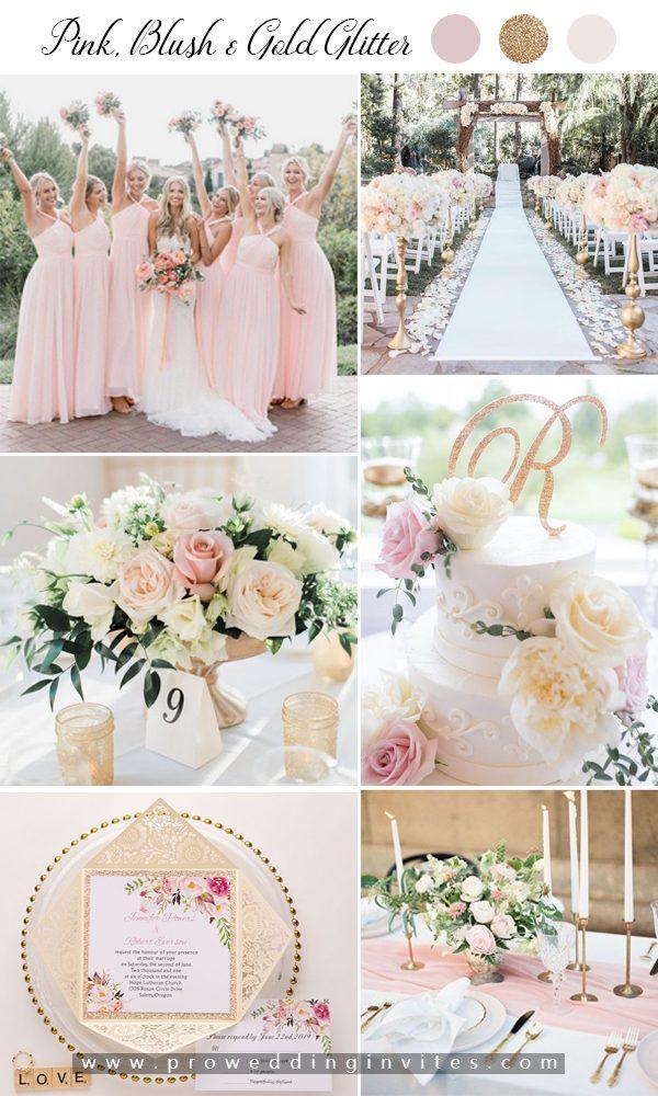 5 Elegant Spring Wedding Colour Palettes Inspired PWI Floral Invitations
