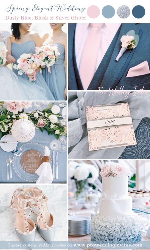 9 Great Wedding Color Palettes for Spring & Summer Wedding in 9