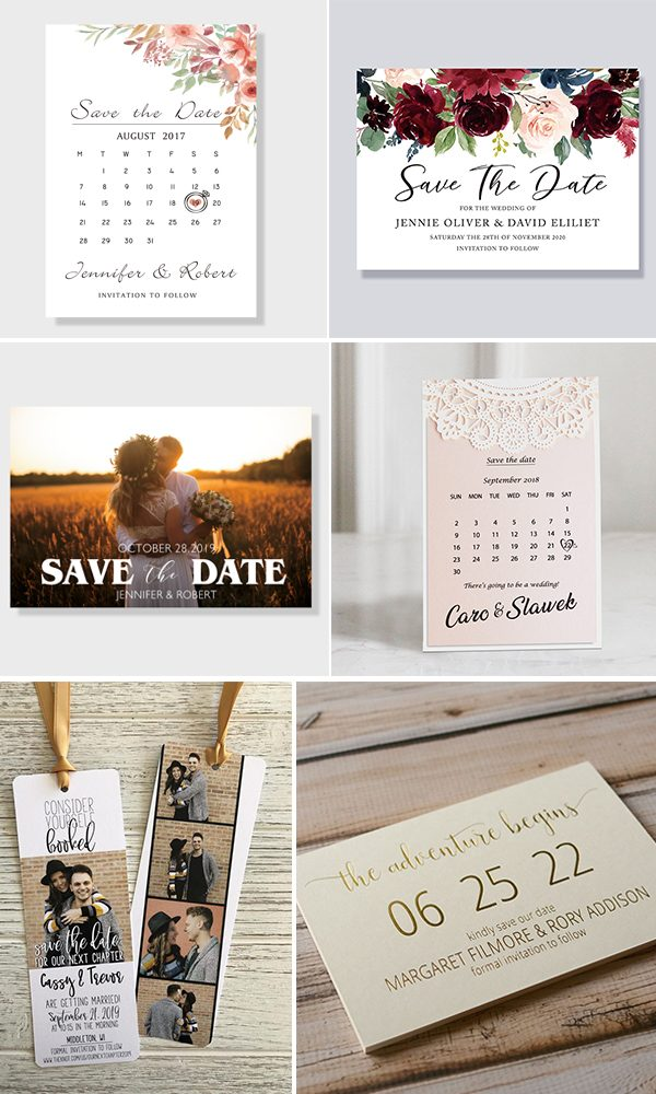 11 Save The Date Cards to Announce Your Big Day