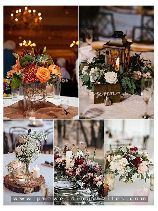 Flower Wedding Centerpieces