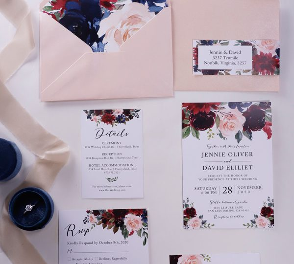 Unmatched Wedding Invitation Wording Ideas for 2020