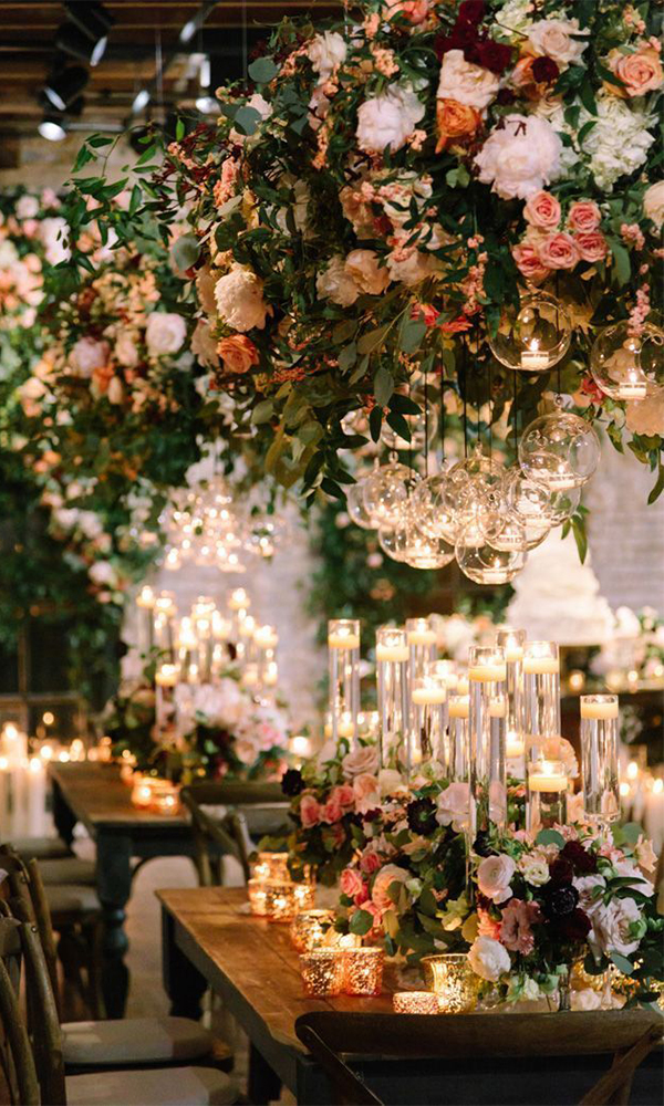 36 Gorgeous Romantic Wedding Photo Ideas With Candles
