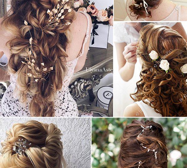 Wedding Hairstyle Trends 2020: 20 Drop-dead Bridal Hair Styles & Wedding Accessories