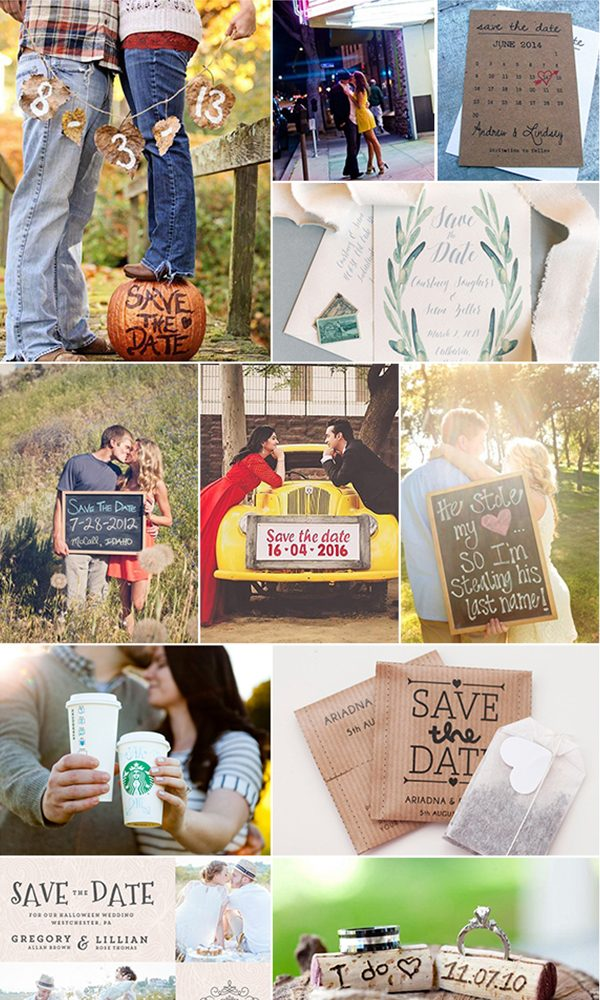 Creative Save The Date Ideas For Weddings In 2020