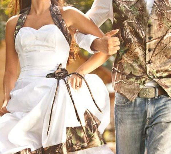 42 Great Camo Wedding Ideas For Country Style Brides