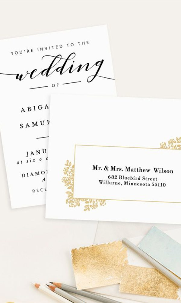 Useful Tips on How to Address Wedding Invitations