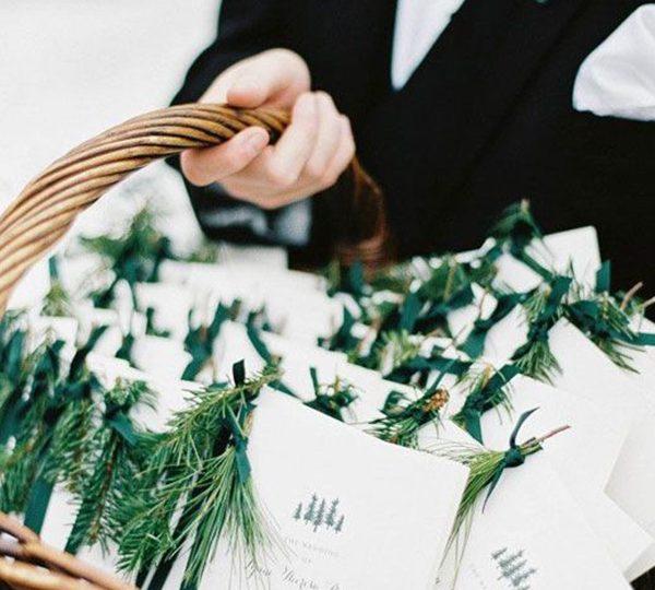 Ways To Write Winter Wedding Invitations Wording