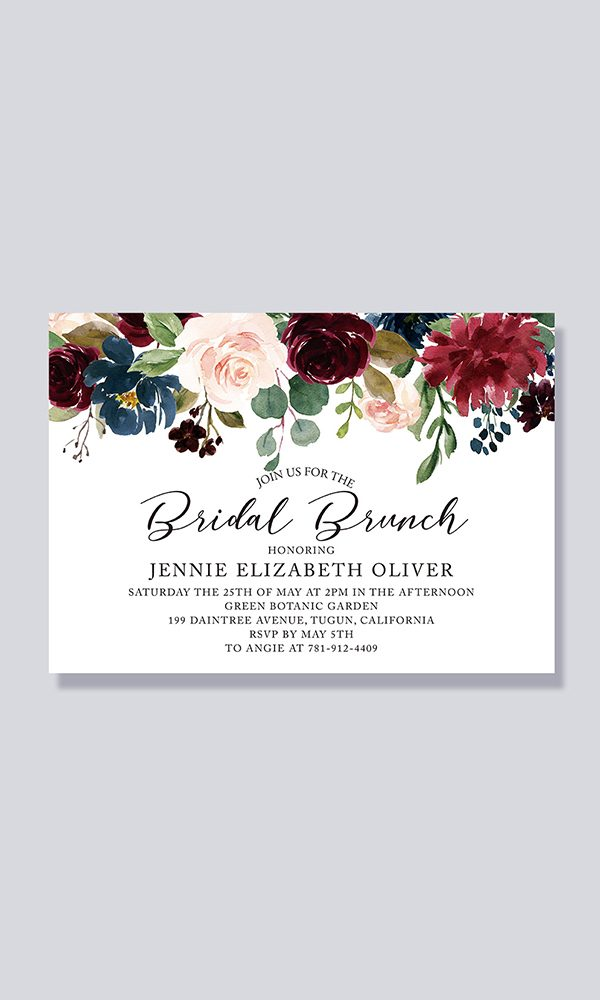 Compelling Bridal Shower Invitation Wording Ideas to Steal