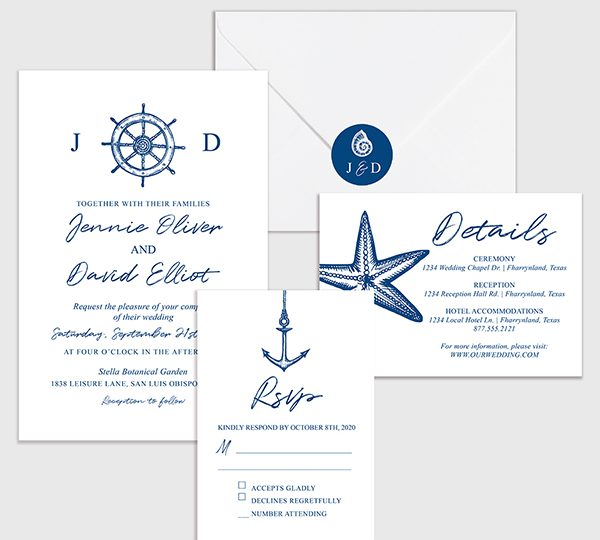 Popular Response Cards Along With The Wedding Invitation