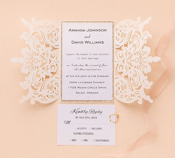 Simple Steps On How To Assemble Wedding Invitations