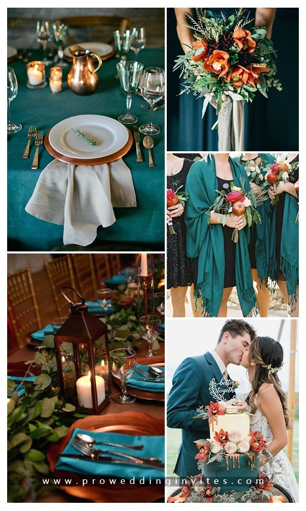 10 Wedding Color Scheme Ideas For Fall 2020 Trends
