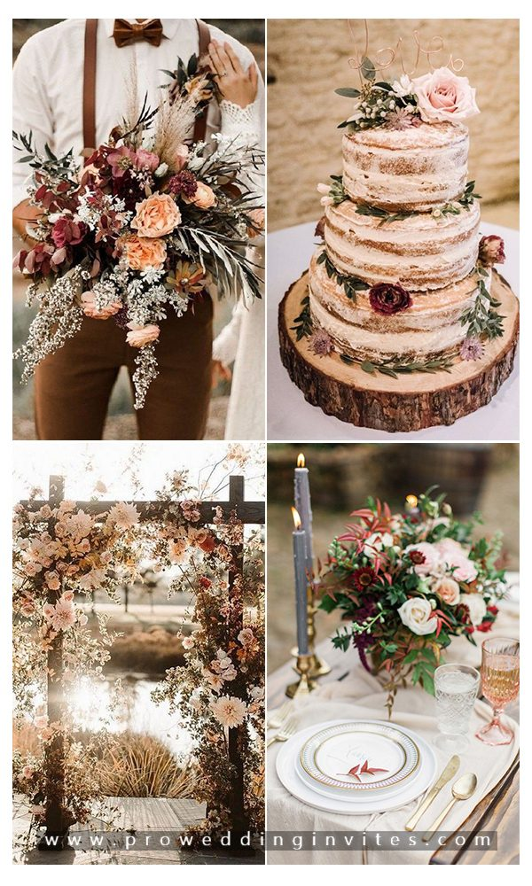 Trending Fall Wedding Color Palette Ideas For 2020