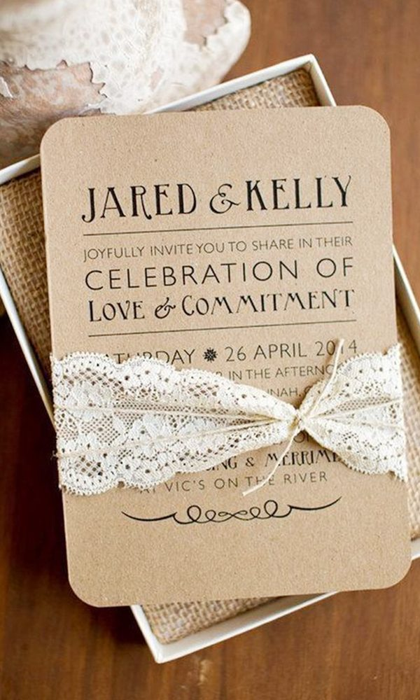Useful Ideas on Assembling Your Wedding Invitations