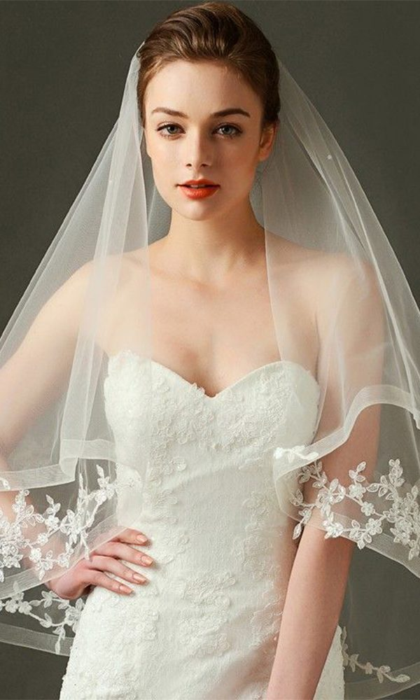 Gorgeous Bridal Veils for Your Perfect Wedding Hairstyles