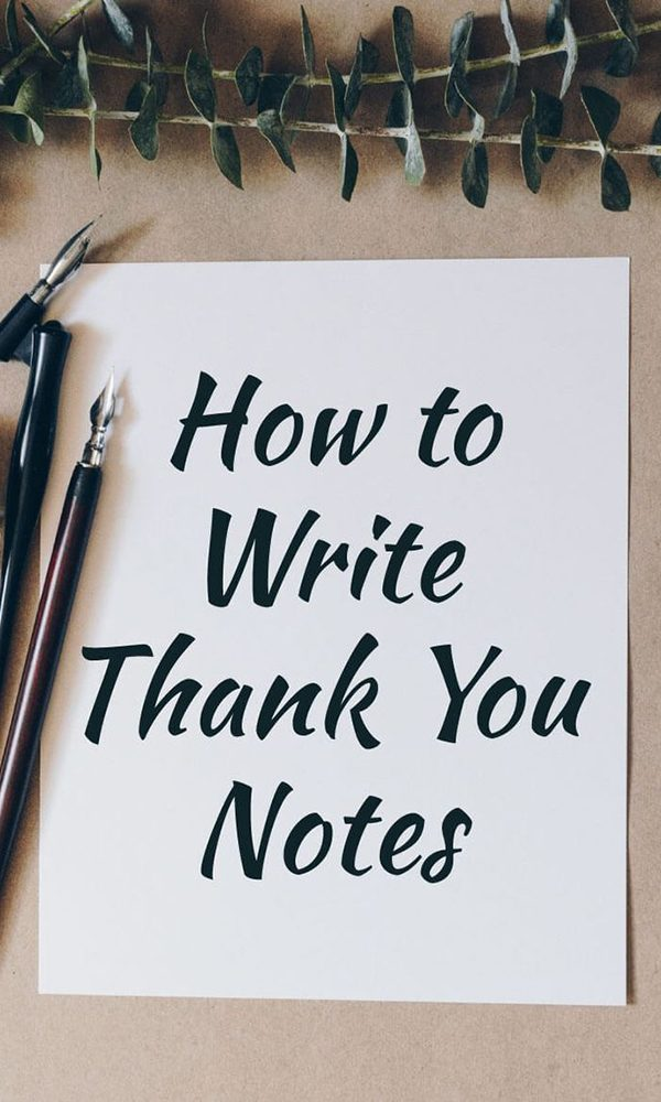Ideas on Writing A Thank You Note in Awkward Gift Situations