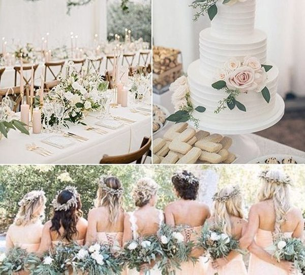 Five Spring And Summer Wedding Color Ideas For 2020