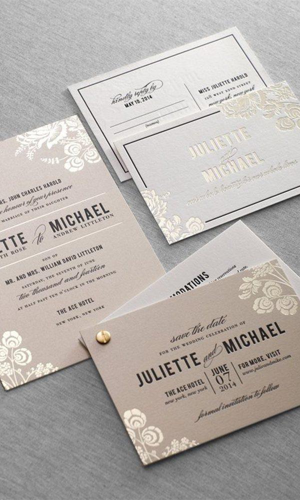 DIY Wedding Invitation Fasteners for Crafty Brides