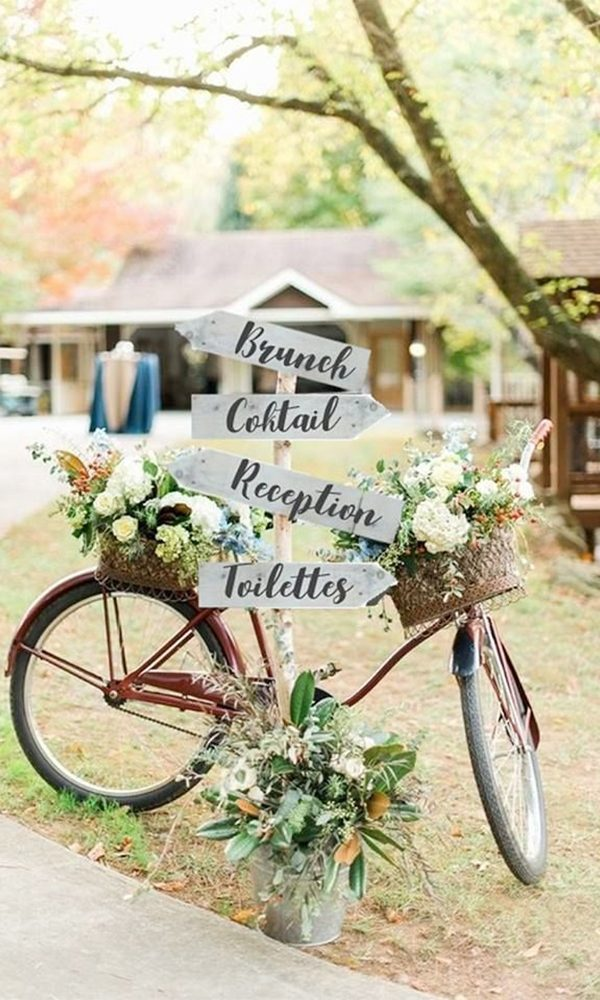 Fun and Creative Bicycle Theme Wedding Ideas