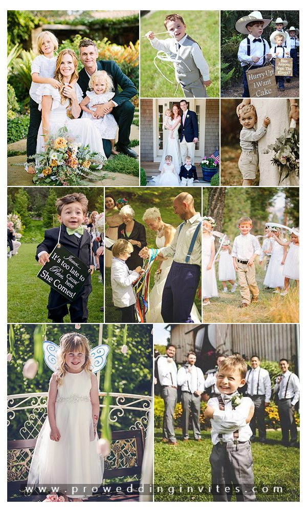 Ideas to Have Children at Your Wedding