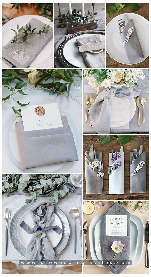 Everything You Need to Know about Wedding Napkins