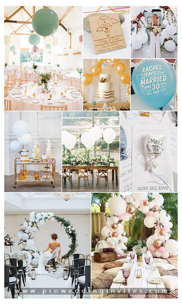 Balloons That Add a Playful Touch to Your Wedding