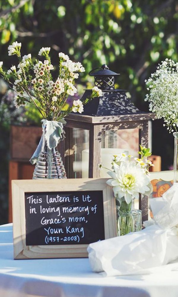 Ways to Honor Loved Ones' Memory at Your Wedding
