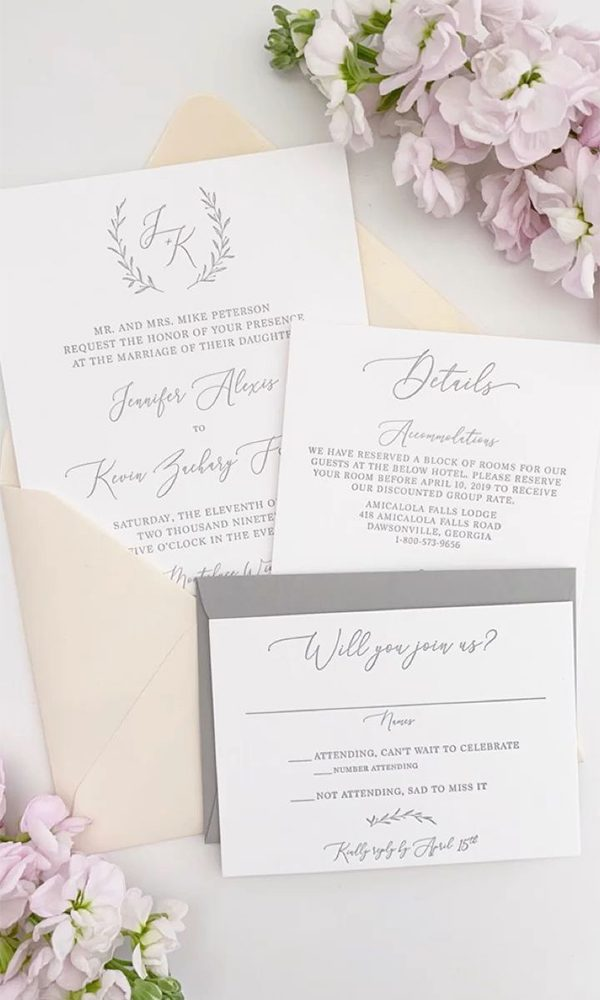 The Reason That We Should Order Wedding Invitation Samples