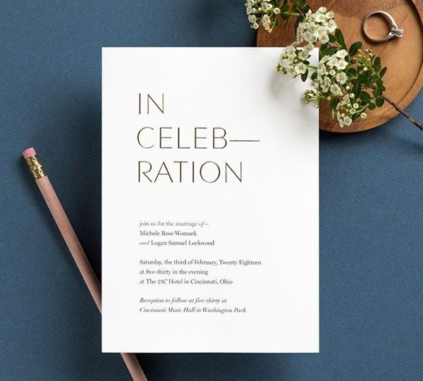3 Wedding Invitation Rules You Can Break