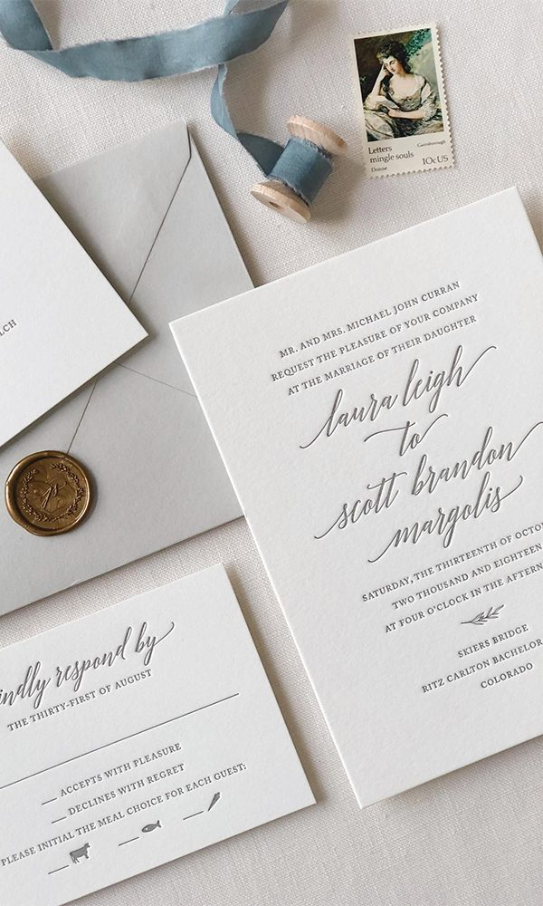 What Does the Font You Choose for Your Wedding Invitations