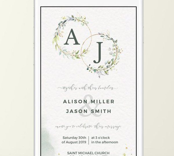 A Non-traditional Choice-Seal and Send Wedding Invitations