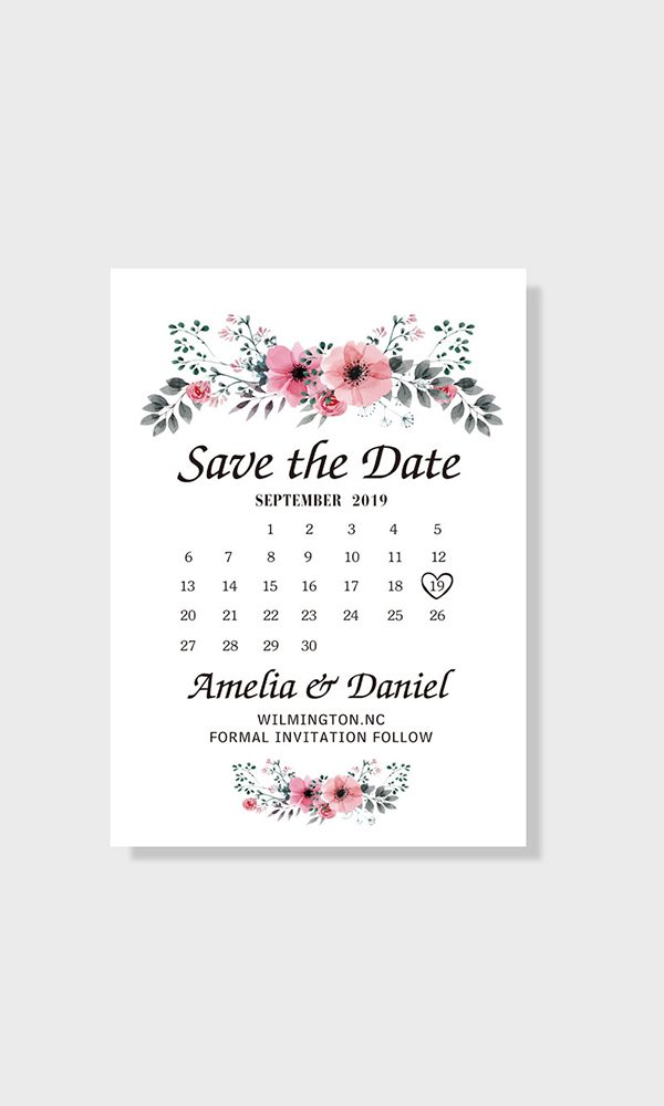 Information That Should Be Includes on Save the Dates