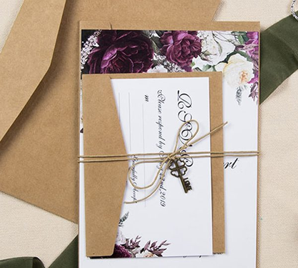 10 Most Popular Floral Wedding Invitations for 2020