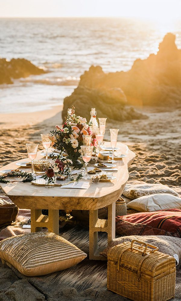 Romantic Boho Beach Themed Wedding Ideas to Steal