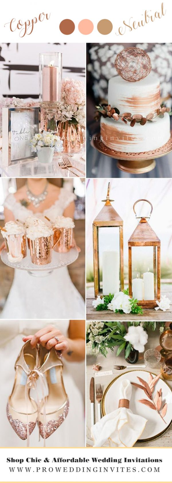 Copper WEDDING COLORS