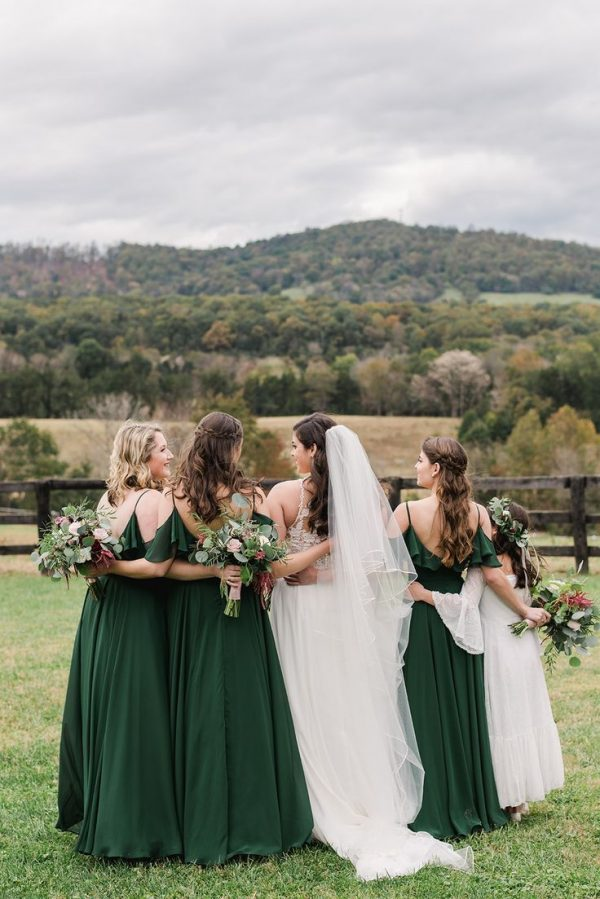Trendy Bridesmaid Dresses for Greenery Wedding 2021