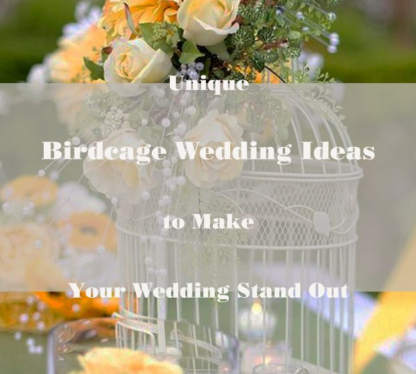 Unique Birdcage Wedding Ideas to Make Your Wedding Stand Out