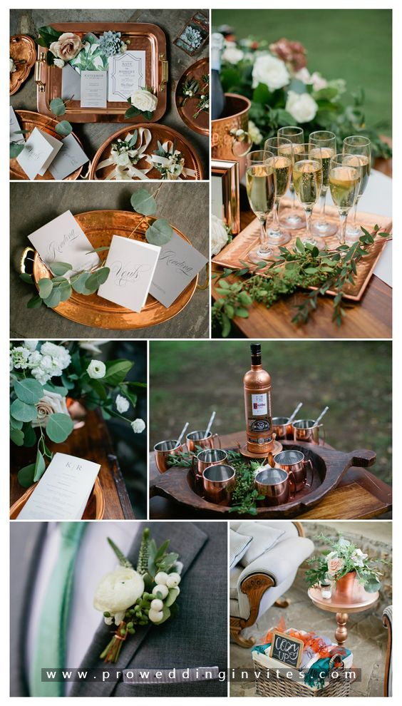 Kale and Olive green kale wedding
