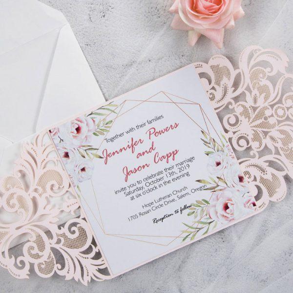 2021 Tender Romantic Dusty Rose Wedding Color Palette