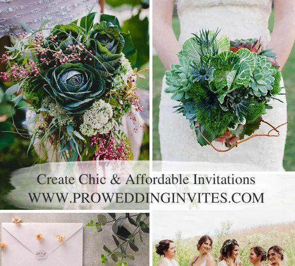 Kale Green Wedding Color Schemes for 2021 Spring & Summer