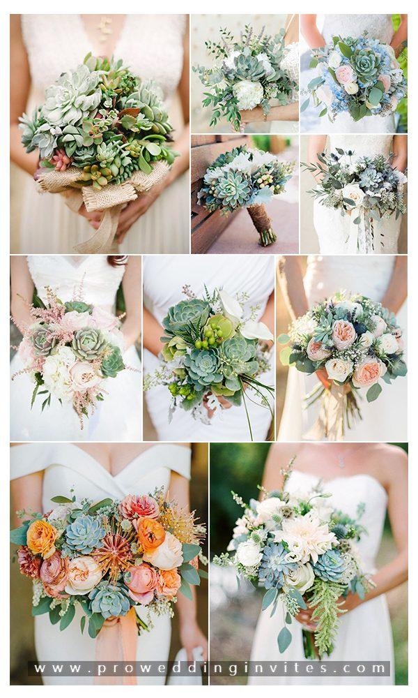 10 Creative and Unique Succulent Wedding Ideas in 2021