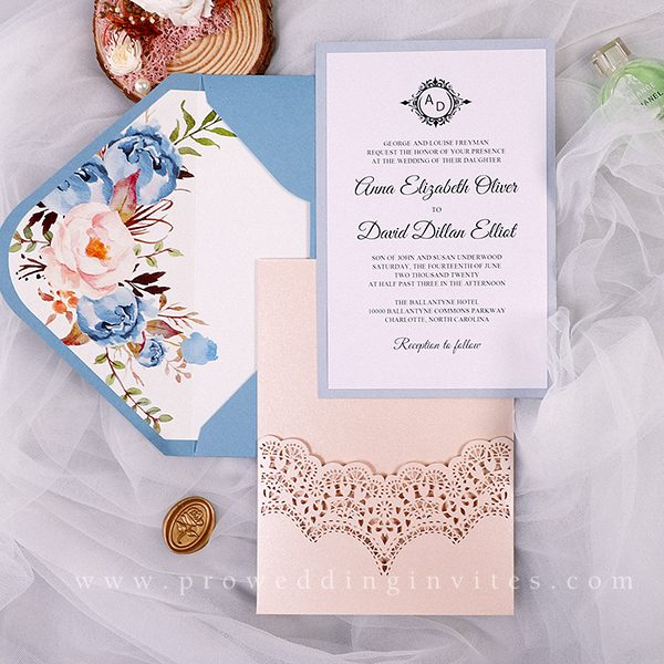 Dusty Blue Wedding Color Ideas